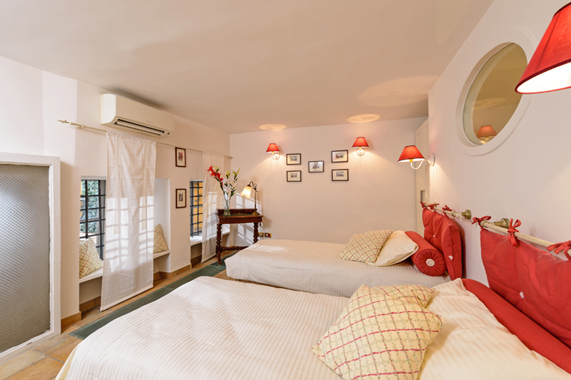 Second Twin Bedded Room Of Panoramic Terraced Rome Navona